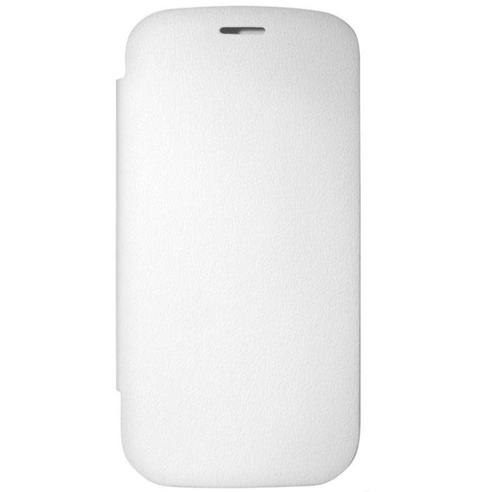 EXEQ HelpinG-SF01 чехол-аккумулятор для Samsung Galaxy S3, White (3300 мАч, флип-кейс)
