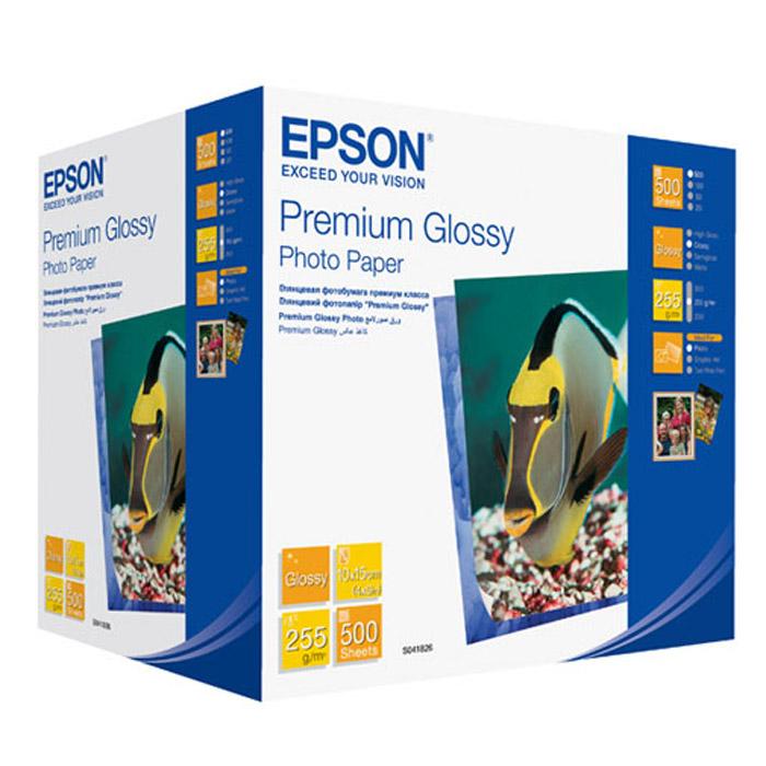 Epson Premium Glossy Photo 255/10x15/500л, глянцевая C13S041826C13S041826Высококачественный материал Epson Premium Glossy Photo на бумажной основе с глянцевым полимерным покрытием. Предназначен для печати изображений профессионального качества - фотографий, интерьерной графики.