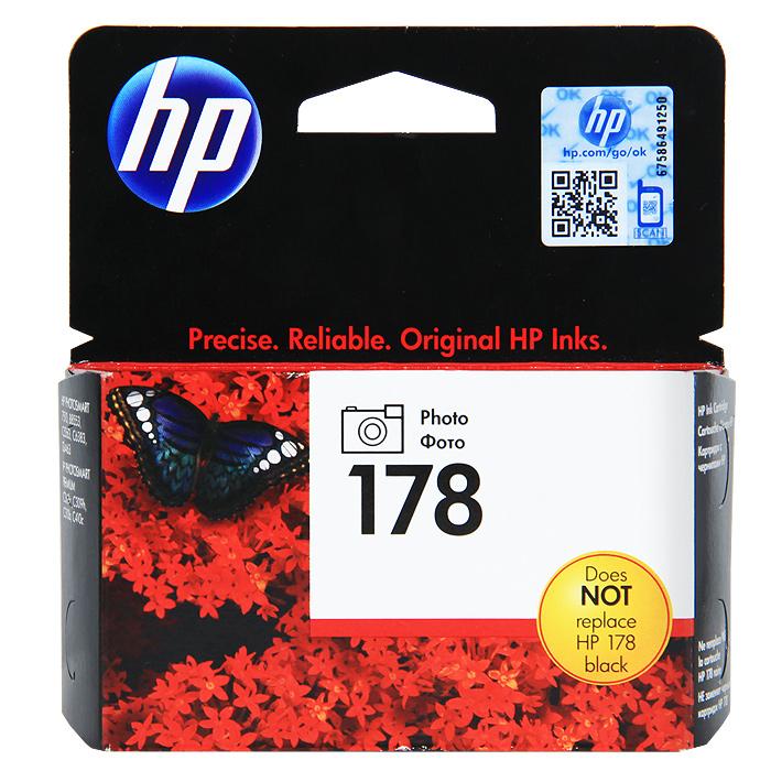 HP CB317HE (178) Photo, Black картридж для струйных принтеров HP PhotosmartCB317HEФотокартридж HP 178 предназначен для использования только в принтерах HP с 5 слотами для картриджей: черный, фото, голубой, пурпурный, желтый. Не поддерживается на принтерах с 4 слотами. Фотокартридж несовместим со слотом для черного картриджа.Получайте впечатляющие результаты при печати фотографий, творческих проектов и повседневной печати с помощью чернил, разработанных для выполнения любых заданий. Печатайте долговечные фотографии профессионального качества с глубокими оттенками черного и серого.Простая и экономичная печать с помощью картриджей, имеющих удобный дизайн. Раздельная система чернил позволяет сократить общие затраты на печать, предоставляя возможность заменять по одному картриджу за раз. Дополнительные картриджи повышенной емкости позволяют еще больше сократить расходы.