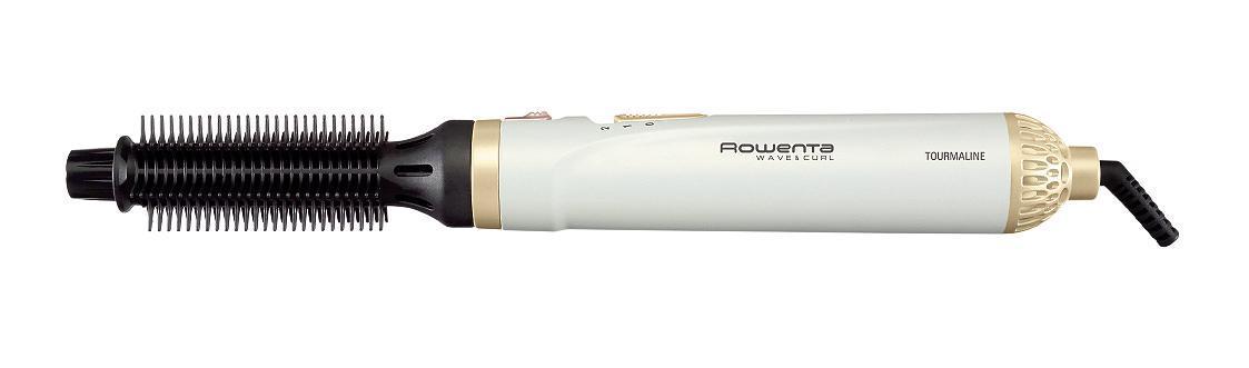 Фен-щетка Rowenta CF3910CF3910С фен-щеткой Rowenta CF 3910 Вы сможете одновременно высушивать и укладывать волосы! Эта модель мощностью в 300 Вт станет вашим незаменимым помощником в создании собственного стиля и позволит существенно экономить время!Фен-щетка оснащена 2-мя режимами работы, различающимися температурой и скоростью подачи воздуха. Таким образом, Вы сможете настроить наиболее оптимальный режим сушки в зависимости от типа и состояния ваших волос!В комплект Rowenta CF3910 входит две насадки-щетки различного диаметра с турмалиновым покрытием. Насадка 25 мм отлично подойдет для объемных укладок, а щетка 21 мм позволит Вам создавать эффектные локоны. Вы сможете экспериментировать со своим стилем, создавая самые невероятные прически!