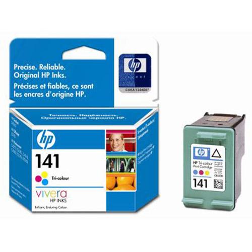 HP CB337HE (141) картридж для струйных принтеровCB337HEТрёхцветный струйный картридж HP 141 для принтеров с чернилами Vivera позволяет получить чёткие, долговечные, живые цвета при повседневной печати. Оцените существенную экономию затрат при выборе этого оригинального струйного картриджа HP для принтеров, рассчитанного на пользователя, печатающего время от времени небольшие объёмы материалов.
