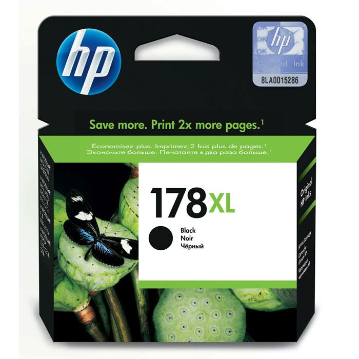 HP CN684HE (178XL), blackCN684HEКартридж струйный высокой емкости HP 178XL с черным чернилами для печати черно-белых документов.