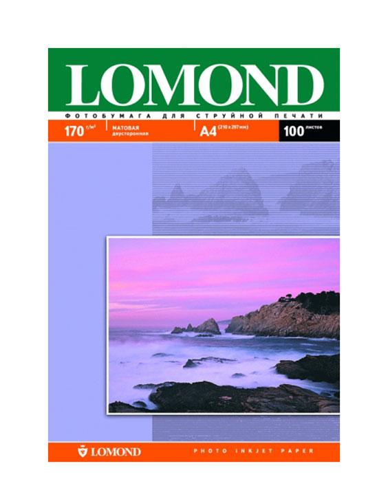 Lomond C0023059WDXC, 01020060102006Матовая двусторонняя универсальная бумага для струйной печати. Обеспечивает быстрое высыхание чернил; устойчива к действию повышенной влажности; обладает антистатическими свойствами.