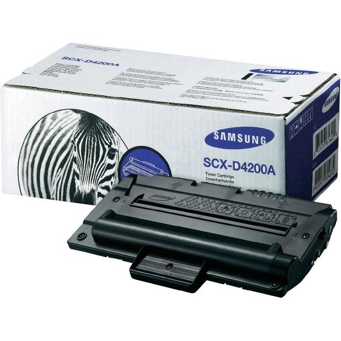 Samsung SCX-D4200A тонер-картридж, BlackSCX-D4200A/SEEОригинальный черный картридж Samsung SCX-D4200A — обеспечивает превосходное качество печати