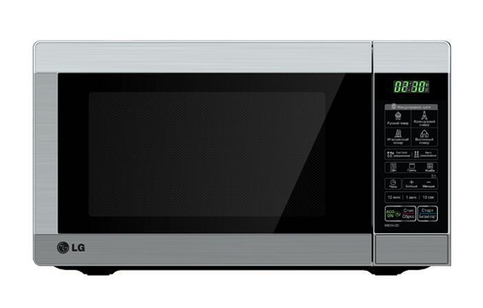 LG MB4042U СВЧ-печьMB-4042UВместо того, чтобы гадать, сколько времени и при какой температуре готовить блюдо, выберите опцию меню, нажмите кнопку и процесс пошел!. По завершении процесса ваша семья будет приятно удивлена вашим кулинарным искусством, но пусть это будет ваш маленький секрет.
