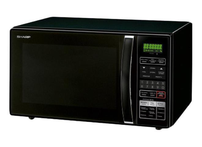 Sharp R8771LKR8771LKМикроволновая печь Sharp R8771 с режимом конвекции (духовки) и двойным грилем.