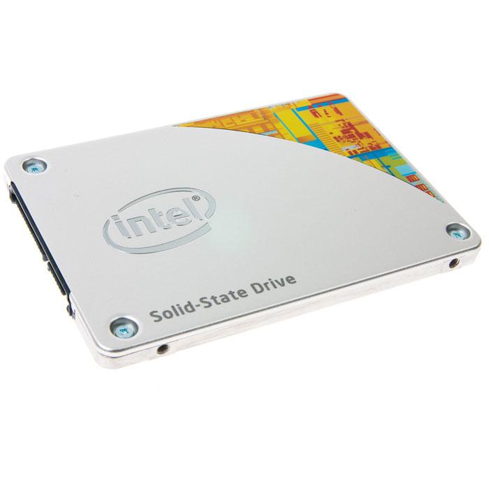 Intel SSD 530 Series 180GB (SSDSC2BW180A4K5 928137) SSD дискSSDSC2BW180A4K5 928137ПК с твердотельными накопителями Intel серии 530 позволяет эффективно работать в самых ресурсоемких приложениях и с легкостью решать несколько задач одновременно. В твердотельных накопителях Intel серии 530 нет движущихся компонентов, поэтому применение таких дисков снижает риск потери или повреждения данных из-за вибраций или ударов. Накопители Intel серии 530 ориентированы на устройства Ultrabook, ноутбуки, компьютеры-моноблоки, вычислительные устройства нового поколения (NUC) и встраиваемые решения. Наряду с высокими показателями быстродействия, твердотельные накопители Intel серии 530 имеют режимы пониженного энергопотребления, потребляя не больше, чем мобильный телефон в режиме ожидания. Пользователи по достоинству оценят усовершенствованные функции защиты данных, высочайшую производительность, качество и надежность, свойственные продуктам Intel на базе самой современной 20-нм технологии Intel NAND. Покупатели твердотельных накопителей Intel обеспечиваются комплексной технической поддержкой.Дополнительно:• Техпроцесс: 20 нм• Случайное чтение (4 КБ): 41 000 операций ввода/вывода в секунду• Вибрация при работе: 2.17 GRMS (5-700 Гц)• Вибрация при хранении: 3.13 GRMS (5-800 Гц)• Ударная нагрузка (при работе и при хранении): 1500 G/0.5 мсек• Среднее время наработки на отказ: 1 200 000 часов