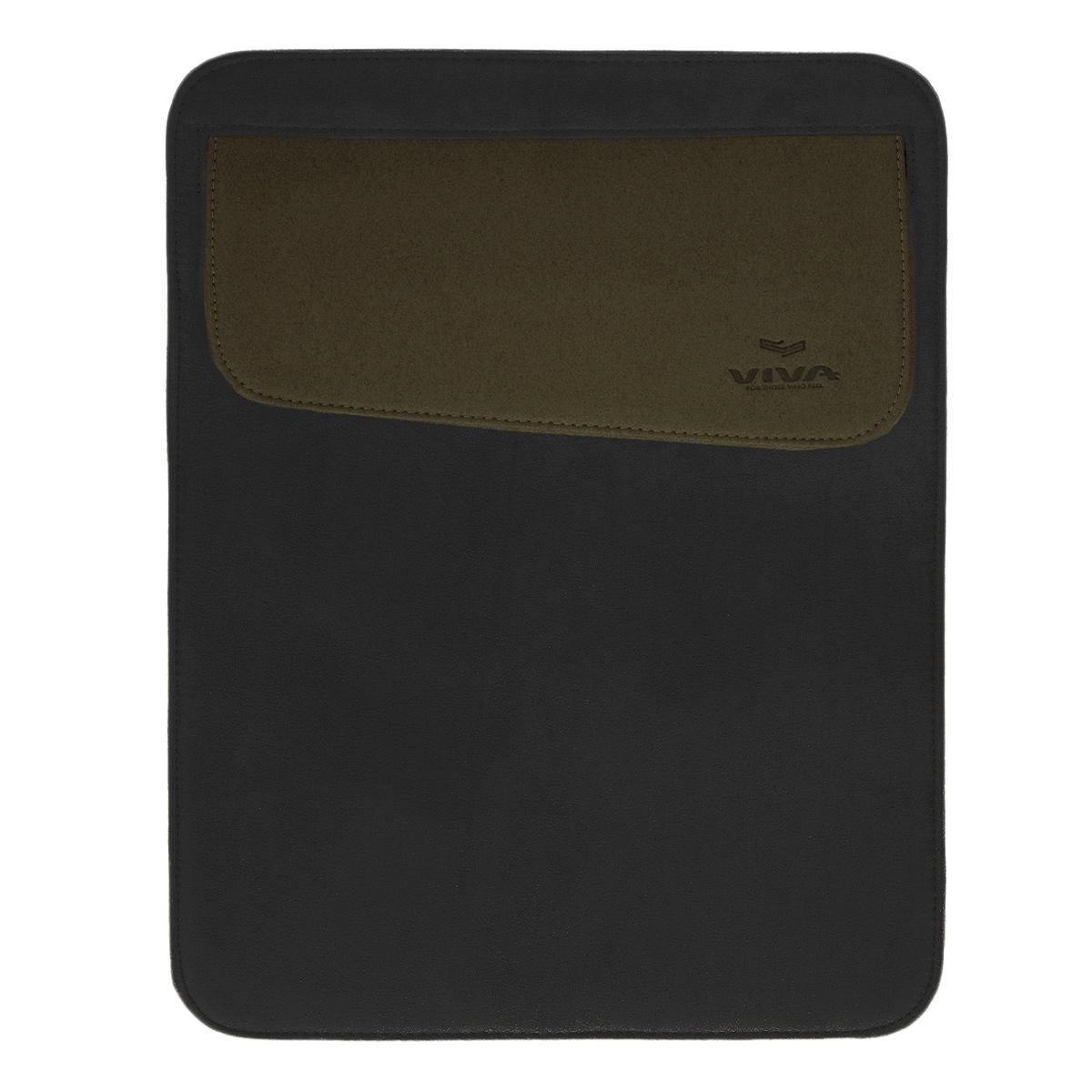Vivacase текстильный чехол для iPad 2/new/4, Black (VAP-AC00301-bl)