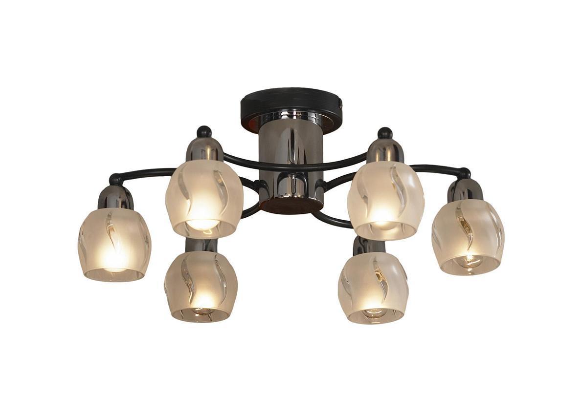 Потолочный светильник Lussole Vieste LSL-8503 06LSL-8503 06Жизнь современного человека не представляется возможной без света, а роскошную, элегантную комнату обязательно должны украшать модные и стильные светильники. При помощи различных источников света можно выразительно и ярко подчеркнуть выигрышные элементы дизайнерского оформления комнаты или же, наоборот, затемнить и скрыть какие-либо детали. Кроме того, точечные светильники создадут особую атмосферу и настроение в интерьере.