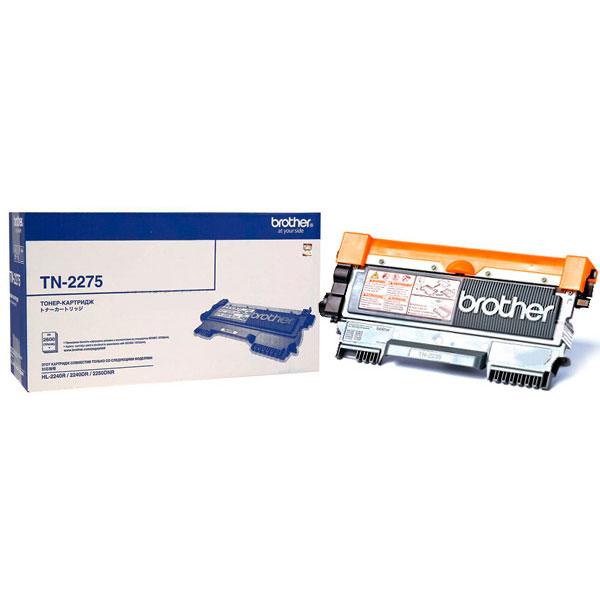 Brother TN2275 тонер картридж для HL2240/2240D/2250DNTN2275Картридж Brother TN2275 предназначен для различных лазерных принтеров и МФУ. Обеспечит отличную четкость печати и надежность в работе.