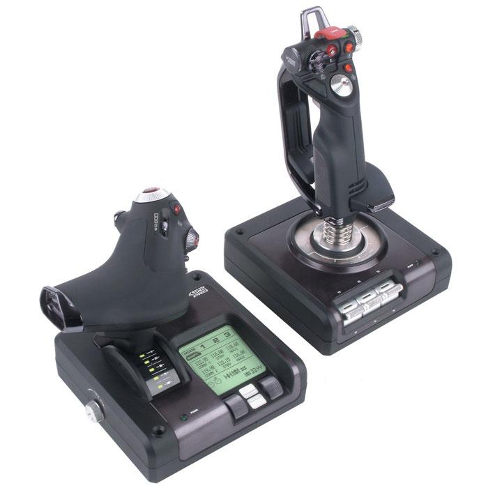 Saitek X52 Pro Flight Control System джойстик + подарок от  War Thunder  - Геймпады, джойстики, рули