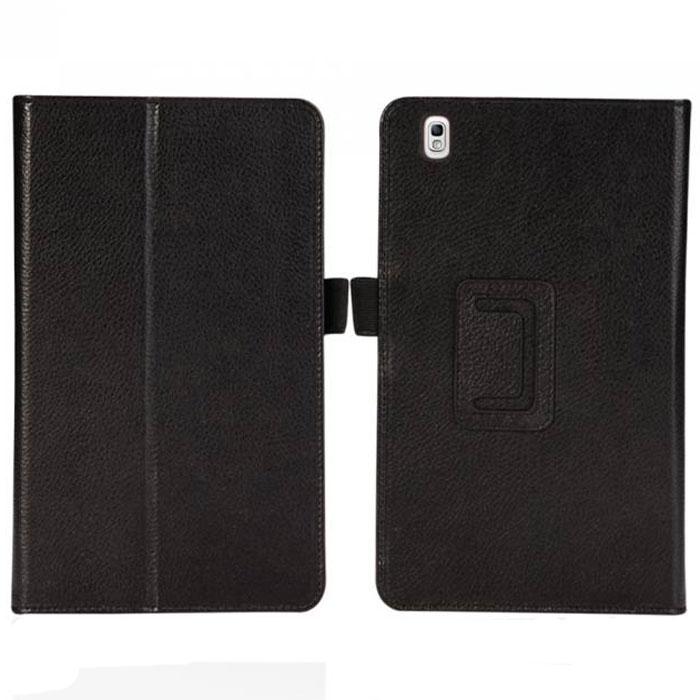 IT Baggage чехол для Samsung Galaxy Tab Pro 8.4, BlackITSSGT8P02-1Чехол IT Baggage для Samsung Galaxy Tab Pro 8.4 - это стильный и лаконичный аксессуар, позволяющий сохранить планшет в идеальном состоянии. Надежно удерживая технику, обложка защищает корпус и дисплей от появления царапин, налипания пыли. Имеет свободный доступ ко всем разъемам устройства.