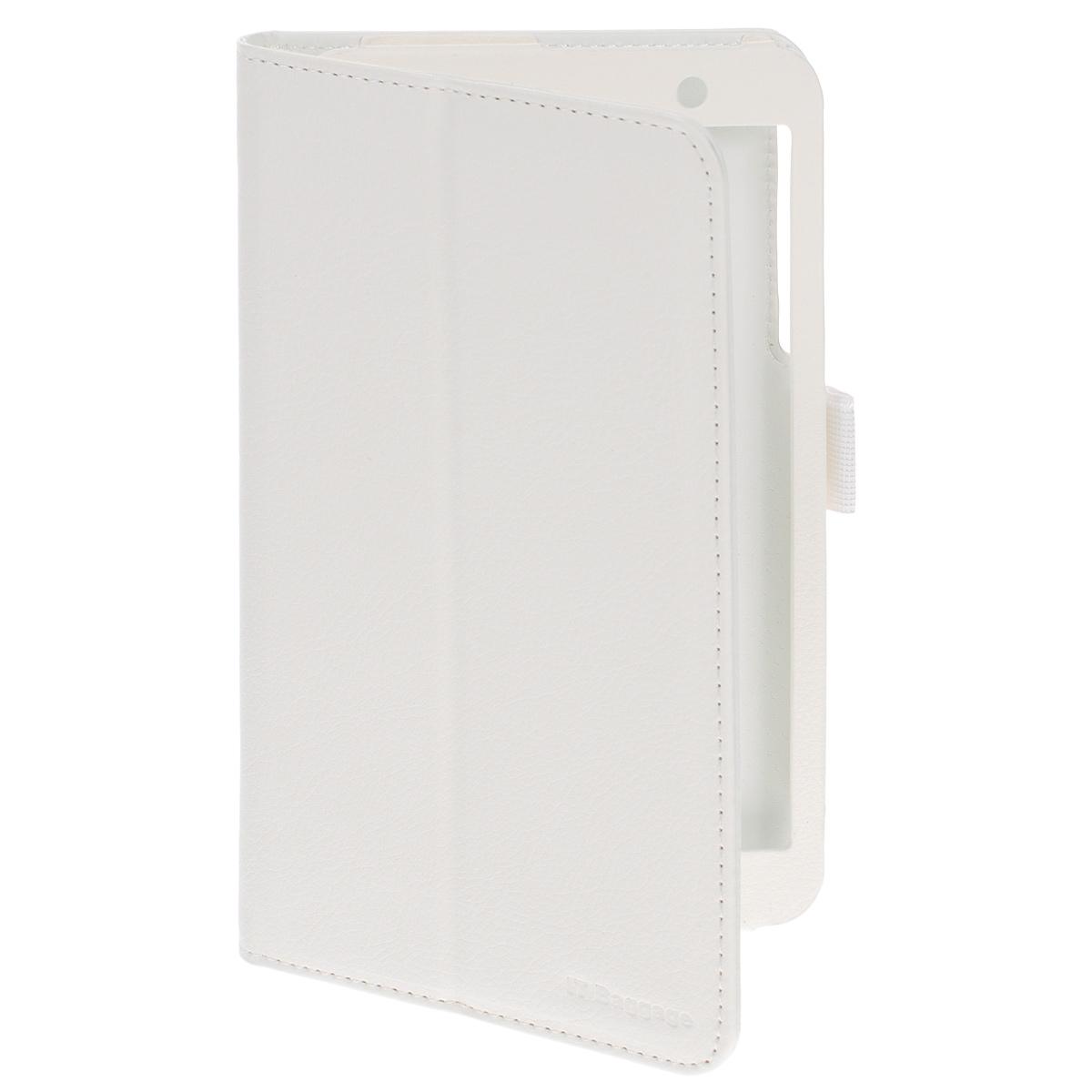 IT Baggage чехол с функцией стенд для Asus MeMO Pad 7 ME176, White чехол для планшета it baggage для memo pad 8 me581 черный itasme581 1 itasme581 1