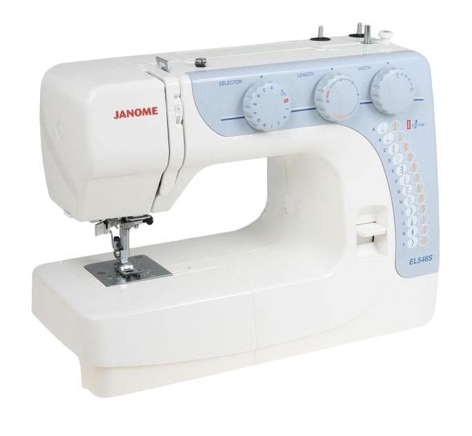 Janome EL545S швейная машинка