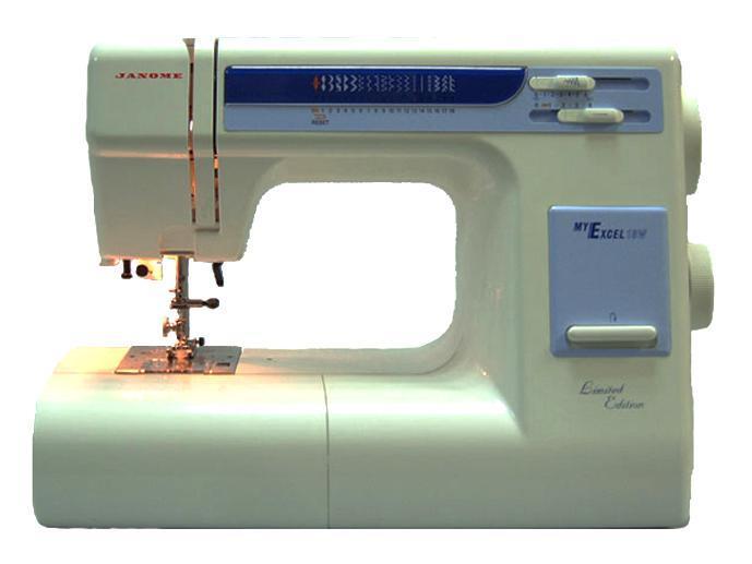 Janome My Excel 18W, White швейная машинаMy Excel 18W