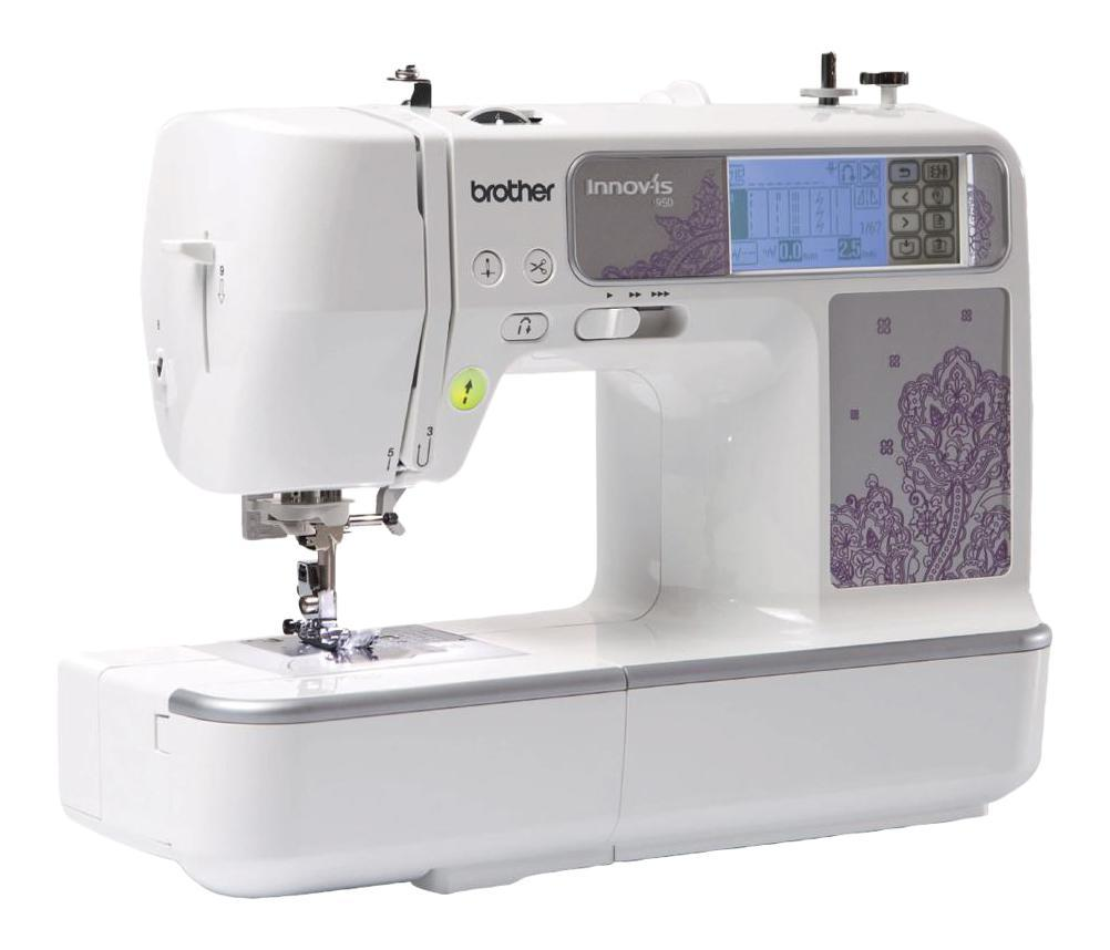 Brother NV950, White швейно-вышивальная машина748223