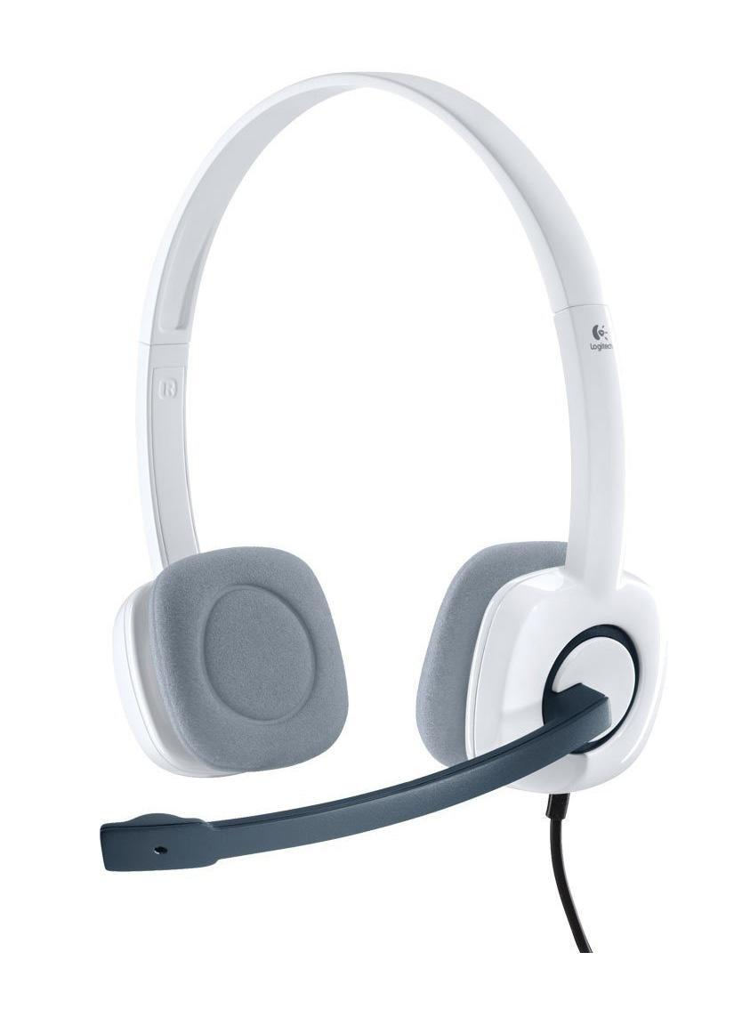 Logitech Headset H150, White (981-000350) гарнитура logitech stereo headset h150 cloud white 981 000350