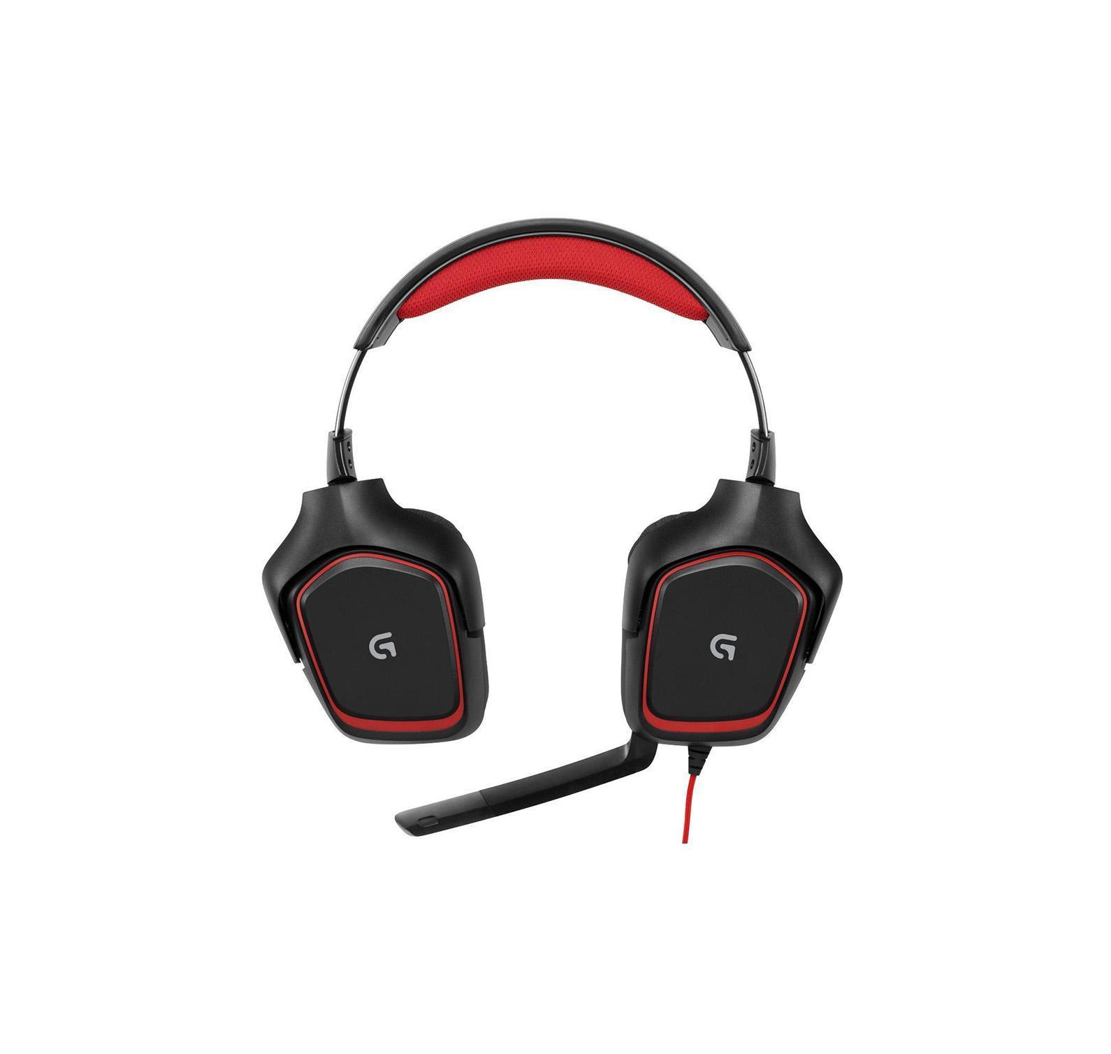 Logitech G230 Gaming Headset (981-000540) проводная игровая гарнитура981-000540Гарнитура Logitech G230 Stereo Gaming Headset с неодимовыми 40-мм динамиками обеспечивает качественный звук и полностью погружает в игру независимо от жанра. Складной микрофон с системой шумоподавления распознаёт голос геймера и отсекает лишние звуки, а пульт управления аудио и кнопка отключения микрофона удобно расположены на кабеле. Стереозвук игрового качестваВ играх важна не только графика. Звук дополняет изображение. За счет 40-миллиметровых неодимовых диффузоров гарнитура G230 обеспечивает высококачественный стереозвук, позволяющий полностью погрузиться в игру от начала до конца. Падение булавки, взрыв бомбы - услышьте все! Спортивные матерчатые амбушюрыДлительные игровые сеансы ассоциируются с жаром и потом. Амбушюры G230 покрыты тщательно подобранным спортивным материалом, чтобы обеспечить ощущение комфорта и мягкости даже при многочасовом использовании. При этом они легко снимаются для мытья, чтобы держать гарнитуру в отличной форме.Легкая конструкция Наушники разработаны тонкими и легкими, но без экономии на качестве звучания. Легкая сбалансированная конструкция позволяет сконцентрироваться на игре. Гарнитура настолько удобна, что вы можете даже забыть, что надели ее.Складывающийся микрофон с шумоподавлением Когда вы захотите, чтобы вас услышали, вас обязательно услышат - громко и четко. Шумоподавляющий микрофон на гарнитуре G230 можно расположить так, чтобы он захватывал исключительно ваш голос. Не хотите разговаривать? Просто сложите его, и пусть он не мешает. Иногда молчание - выигрышный ход! Пульт управления на кабелеЧтобы быстро и точно регулировать звук, держите выключатель звука и регулятор громкости под рукой - все это присоединено к сверхдлинному, 2,3-метровому кабелю. Мягко прилегающие наушникиДля подбора индивидуальной формы наушники поворачиваются на угол до 90 градусов. А поскольку их можно повернуть так, чтобы они идеально прилегали к голове, наушники реже ломаются