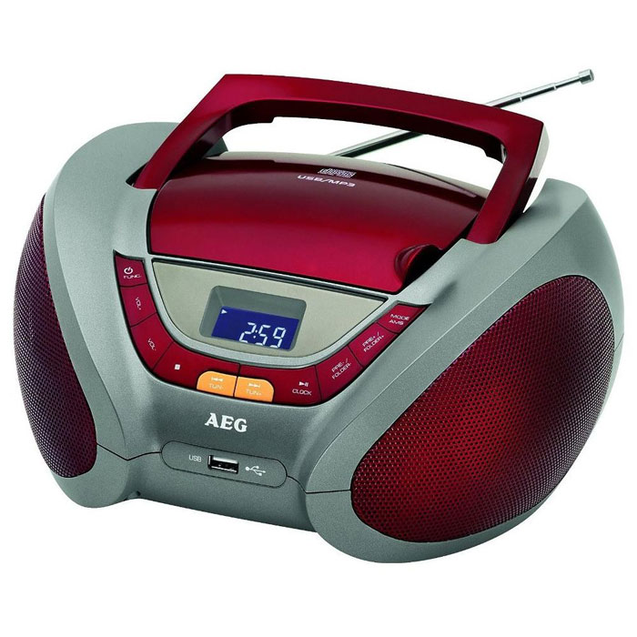 AEG SR 4358, Red аудиомагнитола