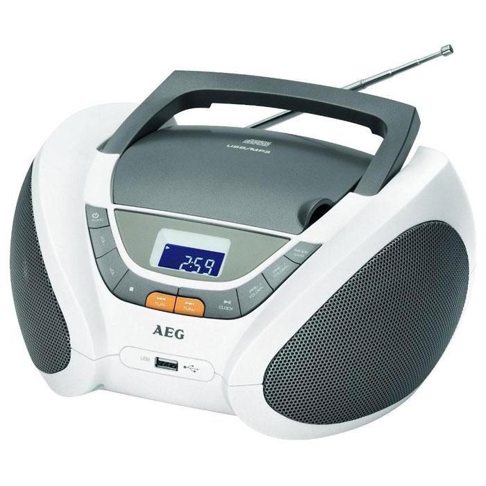 AEG SR 4358, White аудиомагнитола