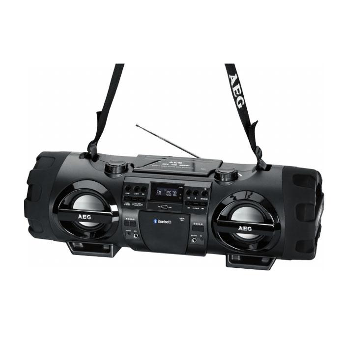 AEG SR 4360 BT, Black аудиомагнитола - Магнитолы, радиоприемники
