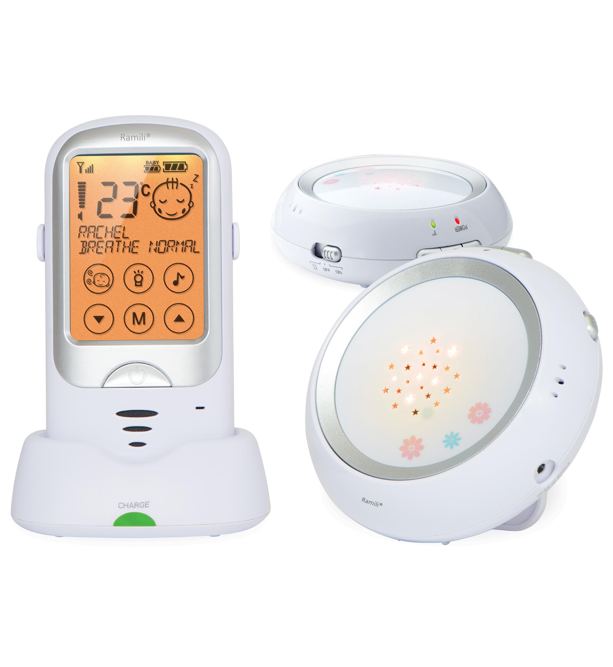 Радио-няня Ramili Baby с двумя детскими блоками RA300Duo - Безопасность ребенка
