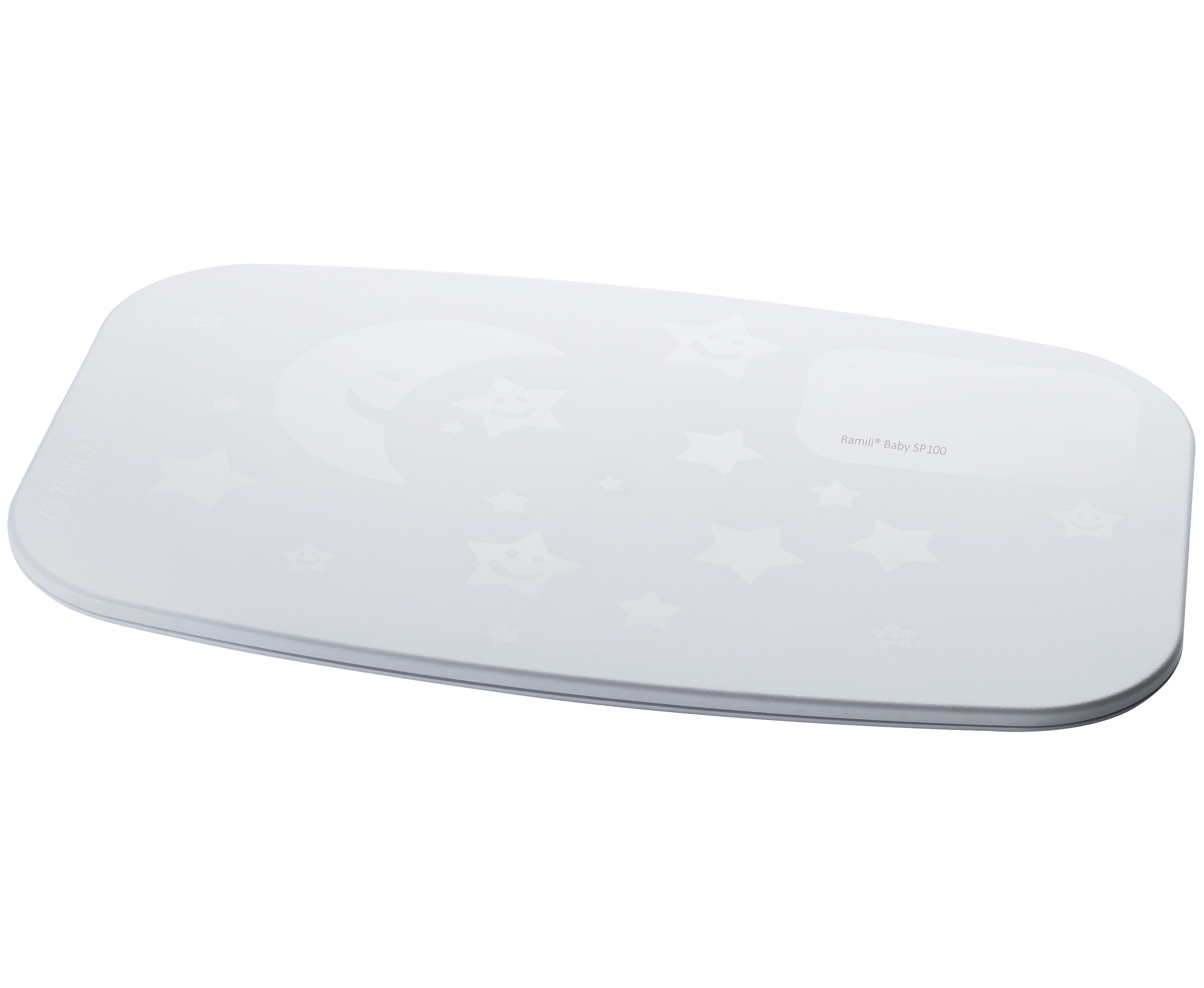 Монитор дыхания Ramili Movement Sensor Pad SP100 представляет из себя сенсорный коврик, который располагается под матрасиком в детской кроватке и улавливает движения ребенка, в том числе и очень слабые движения, вызываемые дыханием. Сигнал передается на радионяню Ramili Baby.