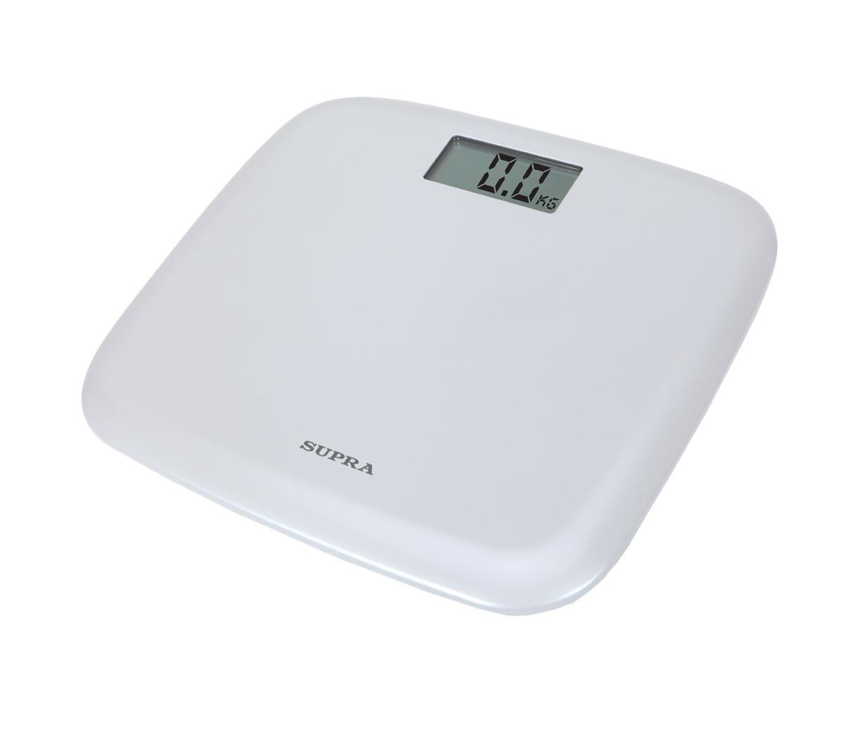 Supra BSS-6050, White напольные весыBSS-6050 whiteЭлектронные напольные весы Supra BSS-6050 с поверхностью из прочного пластика и функцией автоматического отключения станут неизменным спутником для людей, следящих за своим весом. Дисплей с крупными цифрами сделает использование прибора максимально удобным, а индикация низкого заряда батареи поможет обеспечить своевременный уход. Весы оборудованы датчиками натяжения высокой точности, а также противоскользящими ножками.