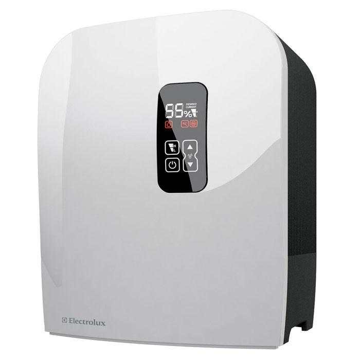 Electrolux 7515D-EHAW мойка воздухаEHAW - 7515DElectrolux 7515D-EHAW - мойка воздуха, которая эффективно увлажняет и очищает воздух в помещении создавая оптимальный и комфортный микроклимат для человека. За этой моделью не требуется специального ухода - вам просто нужно время от времени добавлять воду в бак (объем 7 литров). Не нужно никаких дополнительных фильтров и других расходных материалов. Мойка воздуха имеет 2 мощности работы и удобный LED-дисплей с сенсорным управлением. Благодаря серебряному ионизирующему стержню вода очищается от грибков и плесени, поэтому воздух становится чистым и свежим.Автоматическое затемнение дисплея в зависимости от освещенности в помещенииИндикатор чистки прибораБесшумная работаВстроенный электронный гигростатСистема очистки воды от бактерий