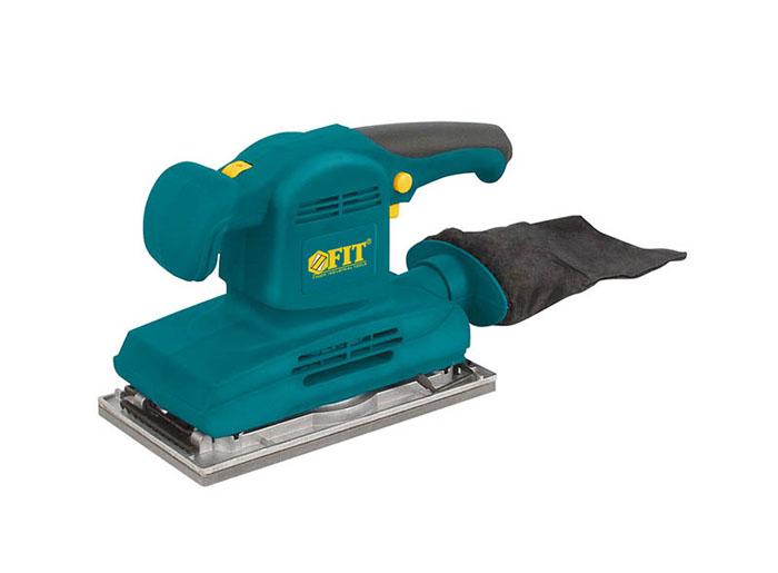 Шлифмашина вибрационная FIT SA-280, 280 Вт, 230 х 115 мм80561Шлифмашина вибрационная FIT SA-280 предназначена для шлифования различных поверхностей. Оснастка крепится к подошве с помощью зажимов, что обеспечивает надежную фиксацию шлифлистов. Корпус имеет покрытие soft-touch, оно приятно на ощупь, не скользит в руках и устойчиво к царапинам. Частота вибрации регулируется с помощью колесика на корпусе инструмента. Малый вес инструмента значительно снижает энергоемкость рабочего процесса. Характеристики: Материал: металл, пластик, резина. Размер упаковки: 32 см х 12 см х 18 см. Гарантия1 год.