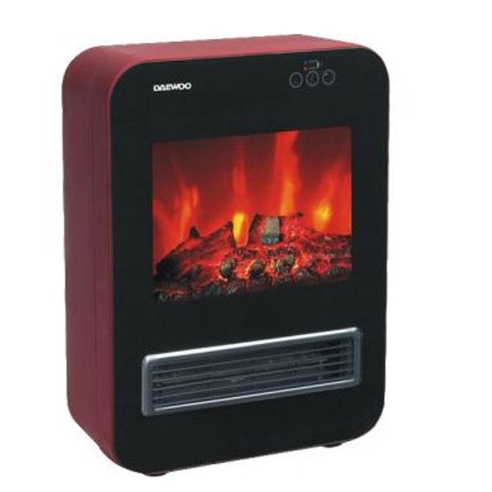 Daewoo DFPH-2040, Red электрокаминDFPH-2040Конвекционный декоративный электрокамин имеет 2 режима обогрева - 1000 и 2000 Ватт. Присутствует эмулятор пламени.