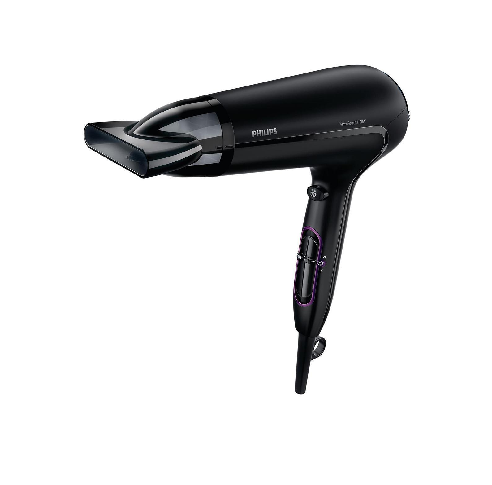 Philips HP8230/00 фенHP8230/00Быстрая укладка без вреда для волос. Благодаря нескольким режимам скорости и температуры, а также технологии ThermoProtect, вы сможете быстро высушить волосы при постоянной оптимальной температуре. Настройка температуры ThermoProtectТехнология ThermoProtect обеспечивает оптимальную температуру сушки волос и их дополнительную защиту от перегрева. Превосходные результаты достигаются при той же мощности воздушного потока, но более щадящим способом. Фен мощностью 2100 Вт для создания объемной укладки, как в салоне красотыЭтот профессиональный фен мощностью 2100 Вт создает мощный поток воздуха. Удачное сочетание мощности и скорости помогает сократить время сушки и облегчить создание укладки. Шесть режимов нагрева и скорости для разных типов волосСкорость и нагрев легко регулируются, что способствует созданию идеальной укладки. Шесть режимов обеспечивают полный контроль за процессом сушки волос, что очень удобно для создания аккуратной стильной укладки. Холодный обдув для фиксацииХолодный обдув используется всеми профессиональными парикмахерами. При нажатии кнопки подается мощный поток холодного воздуха, который помогает зафиксировать укладку. Превосходные результаты укладки благодаря узкой насадкеПревосходные результаты укладки и блестящий внешний вид благодаря узкой насадке для высокоточной укладки. Сетевой шнур 1,8 мУдобство использования благодаря шнуру питания длиной 1,8 м. Удобная петелька для храненияРасположенная в основании рукоятки петелька с резиновым покрытием обеспечивает удобное хранение фена - дома или в гостинице. Съемный воздухозаборный фильтр для быстрой и легкой очисткиСъемный воздухозаборный фильтр фена удобен в использовании: просто снимите его для очистки. Регулярная очистка препятствует скоплению пыли и волос и обеспечивает эффективную сушку.