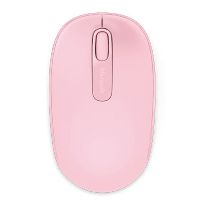Microsoft Wireless Mobile Mouse 1850, Pink мышь (U7Z-00024)