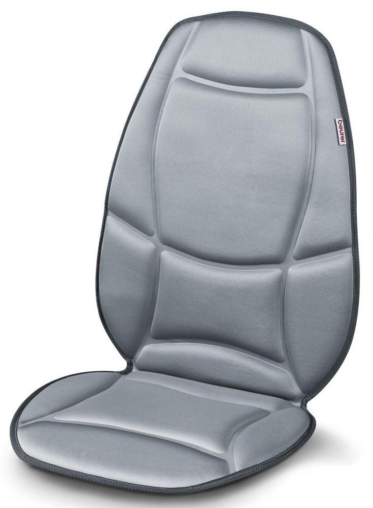 Массажная накидка Beurer MG1581092044Благодаря этой массажной накидке Beurer mg158 Вы можете массировать спину и бедра в сидячем положении. Массаж осуществляется при помощи 5 вибрационных двигателей и имеет много вариантов настройки. Разложите накидку на сиденье, выберите нужную конфигурацию и получайте удовольствие от массажа.Массаж оказывает расслабляющее или стимулирующее действие на организм, эффективен для лечения защемления мышц, болей и усталости. Массажная накидка Beurer mg 158 избавит Вас от неприятных ощущений в мышцах, нормализует обменные процессы в организме и подарит Вам хорошее самочувствие.5 вибрационных двигателей2 уровня интенсивности3 программы массажаФункция подогреваВыбор массажной зоны на телеС переходником для использования в автомобилеСогревающий расслабляющий массажПростота управления при помощи выключателяПодключаемая функция нагрева спиныПрименение во всех местах для сидения