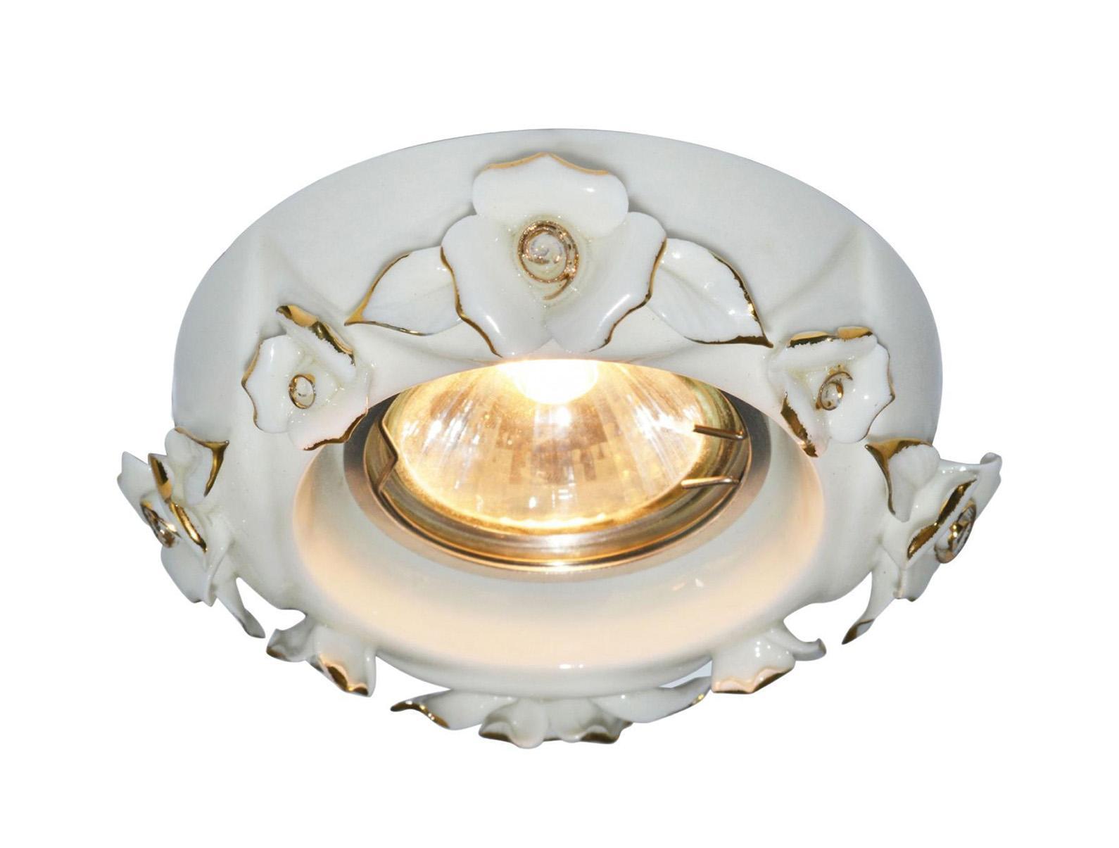 A5230PL-1WG FRAGILE Встраиваемый светильникA5230PL-1WG1x50W; патроны GU10 и G5,3 в комплекте Материал: Арматура: КерамикаРазмер: 120x120x50Цвет: Бело-золотой