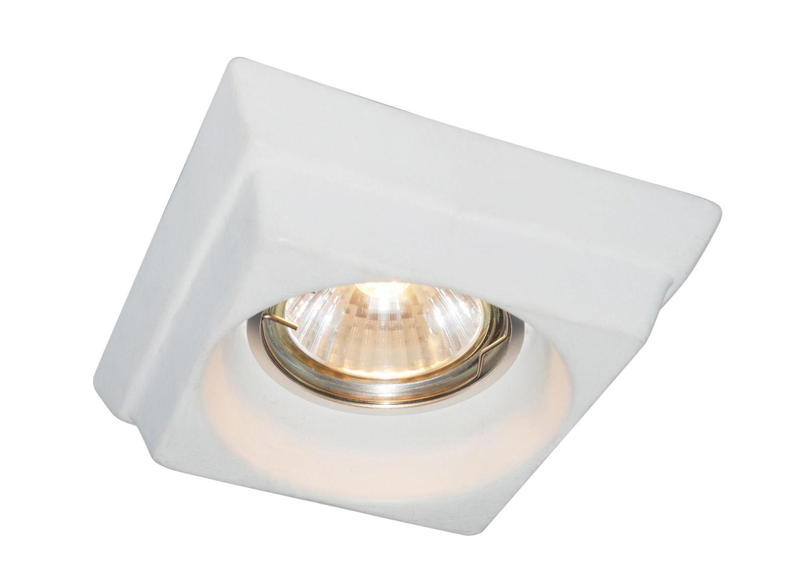 A5247PL-1WH CRATERE Встраиваемый светильникA5247PL-1WH1x50W; патроны GU10 и G5,3 в комплекте Материал: Арматура: КерамикаРазмер: 101x101x48Цвет: Белый