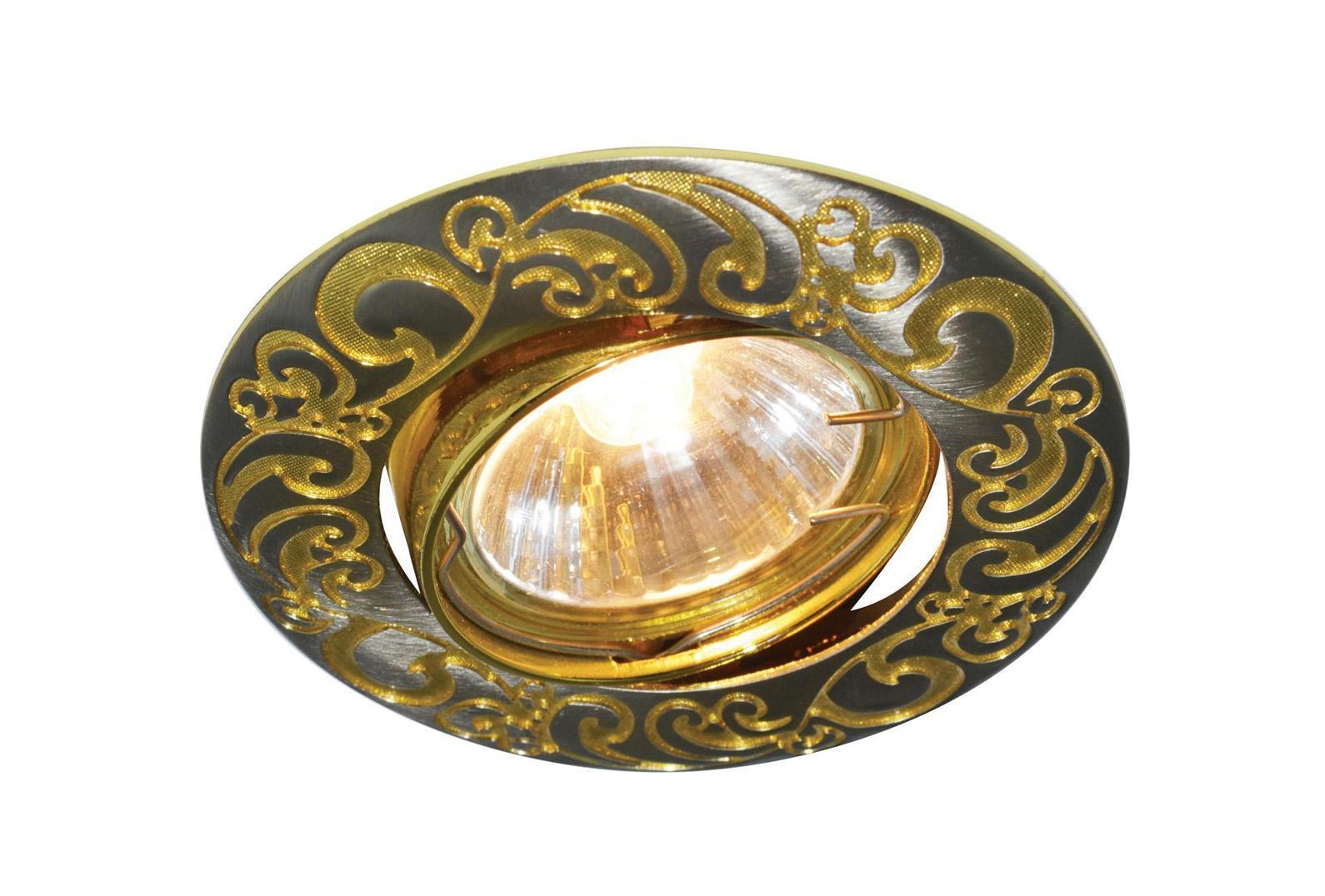 A5108PL-3GA WOOD Встраиваемый светильникA5108PL-3GA3x50W; патроны в комплекте GU10 и G5.3 Материал: Арматура: Металл, литьеРазмер: 92x92x22Цвет: Античное золото
