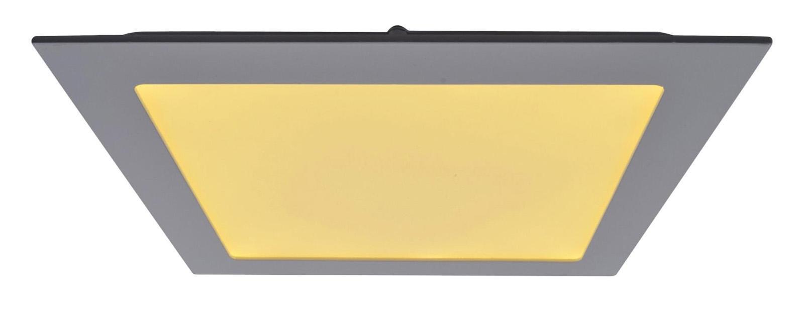 A2418PL-1WH FINE Встраиваемый светильникA2418PL-1WH18W LED; 1440 lm Материал: Арматура: Алюминий / Элемент декора: ПластикРазмер: 225x225x25Цвет: Белый