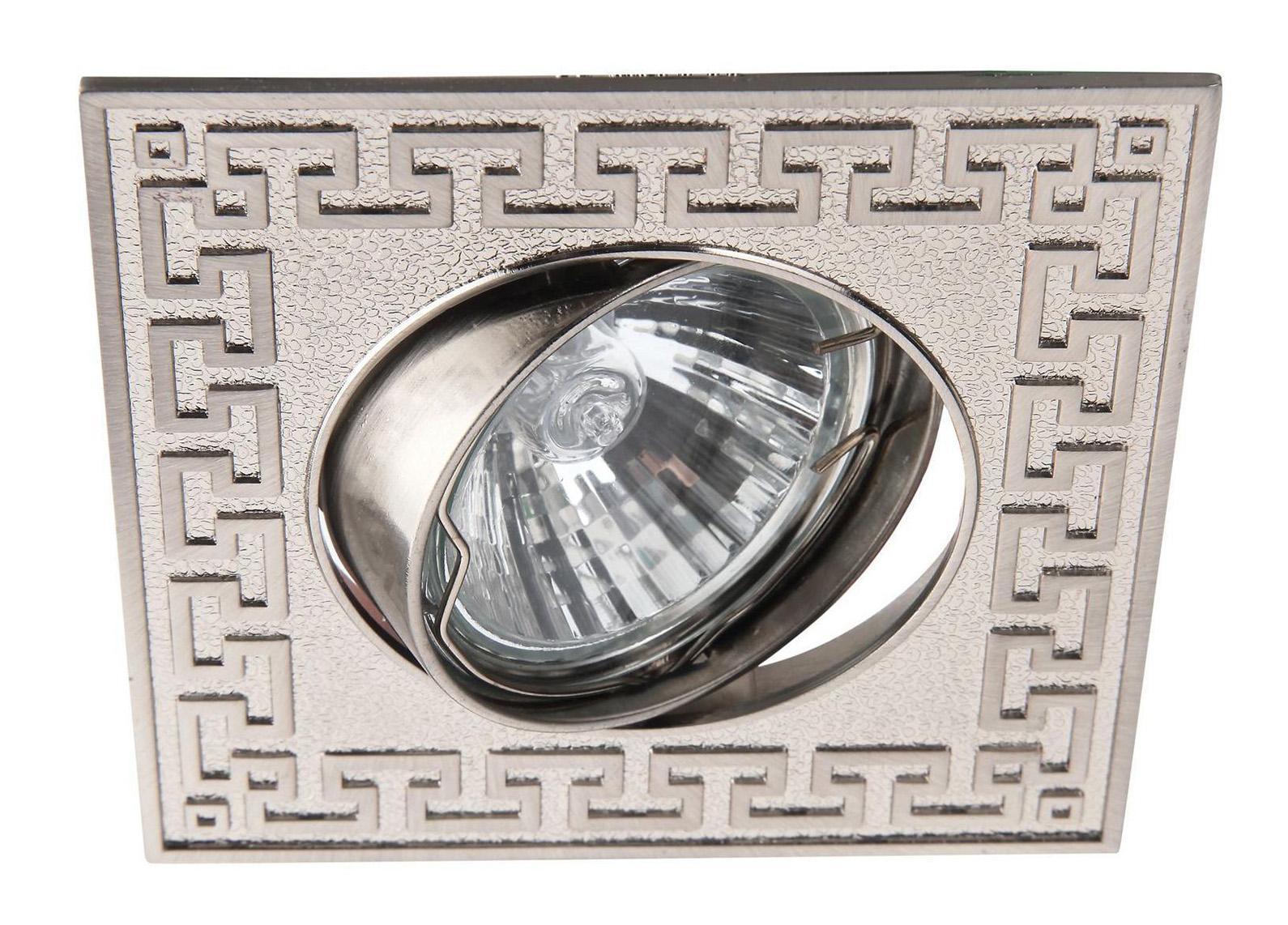 A2107PL-3SS ECLIPSE Встраиваемый светильникA2107PL-3SS3xGU10x50W Материал: Арматура: Металл, литьеРазмер: 93x93x113Цвет: Матовое серебро
