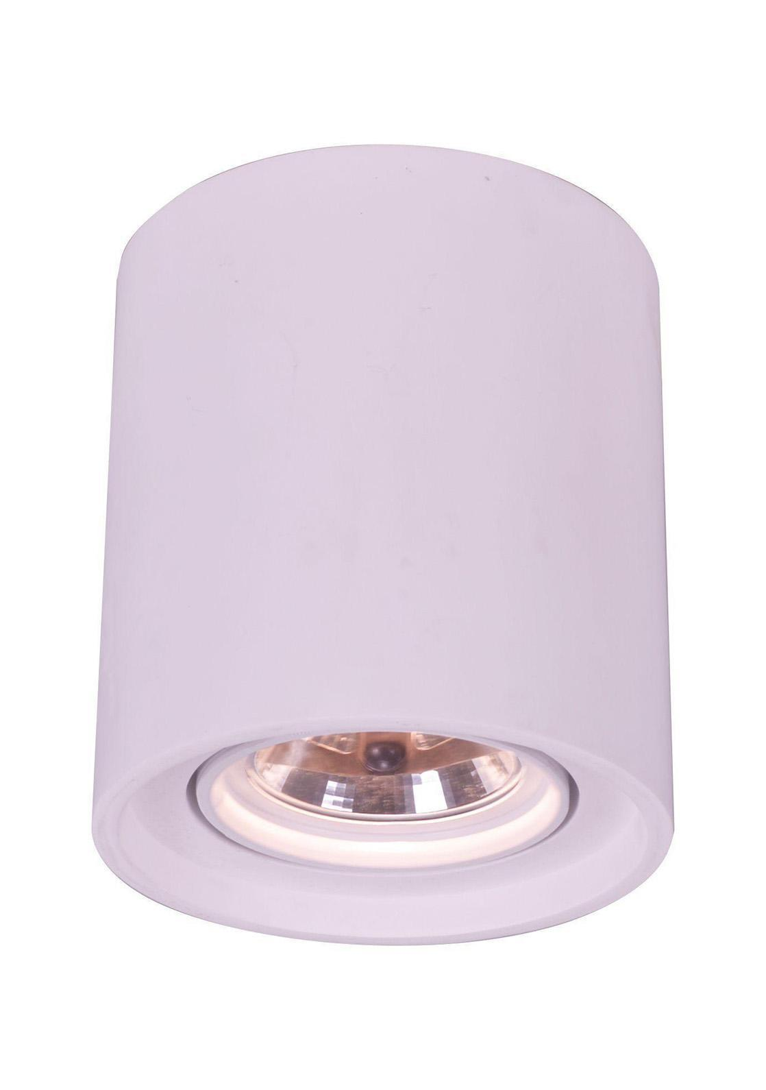 A9262PL-1WH TUBO Встраиваемый светильникA9262PL-1WH1xG5.3/ar111x50W; Светильник можно красить Материал: Арматура: ГипсРазмер: 200x200x225Цвет: Белый
