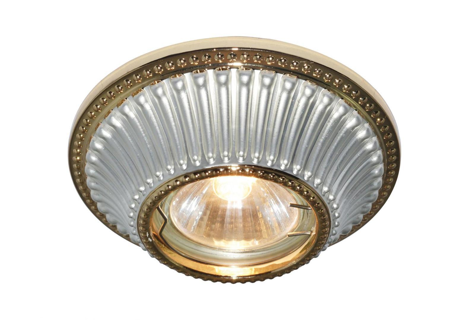 A5298PL-1WG ARENA Встраиваемый светильникA5298PL-1WG1x50W; патроны GU10 и G5,3 в комплекте Материал: Арматура: Металл, литьеРазмер: 110x110x45Цвет: Бело-золотой