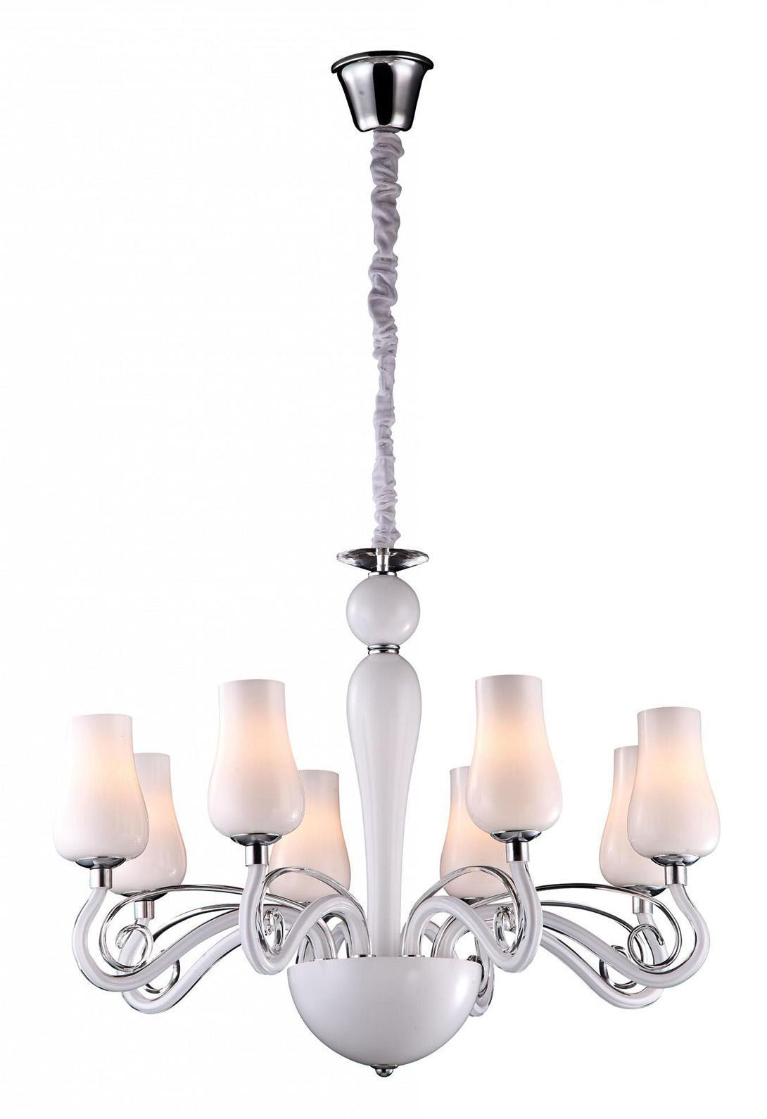 A8110LM-8WH BIANCANEVE Люстра на цепи подвесная люстра arte lamp biancaneve a8110lm 8wh
