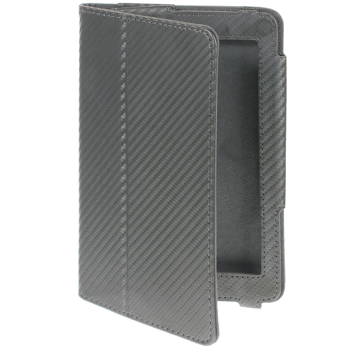 IT Baggage чехол с функцией стенд для Asus MeMO Pad 7 ME172V/ME371, GreyITASME1722-9Чехол IT Baggage с функцией стенд предназначен для Asus MeMO Pad 7 ME172V/ME371. Основа чехла имеет специальную рамку, надежно удерживающую планшет внутри. Крышка его выполнена из бархатистого материала, который обеспечивает деликатную защиту дисплея. Кроме того, на ней имеется несколько граней, с помощью которых плоскость может изгибаться, превращаясь в удобную подставку.