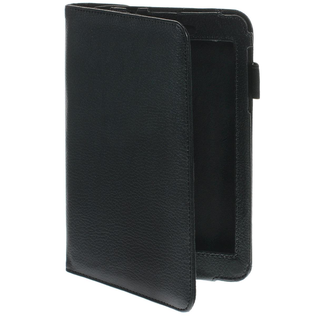 IT Baggage поворотный чехол для Asus Nexus 7, BlackITASNX706-1Поворотный чехол IT Baggage для Asus Nexus 7 - это стильный и лаконичный аксессуар, позволяющий сохранить планшет в идеальном состоянии. Надежно удерживая технику, обложка защищает корпус и дисплей от появления царапин, налипания пыли. Также чехол IT Baggage Asus Nexus 7 можно использовать как подставку для чтения или просмотра фильмов. Имеет свободный доступ ко всем разъемам устройства.