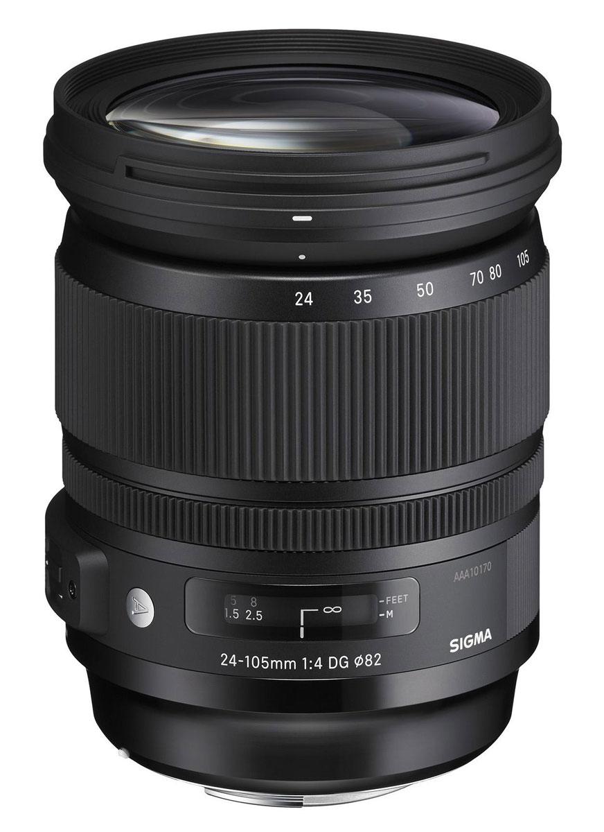 Sigma AF 24-105mm f/4.0 DG OS HSM Art объектив для Canon635954Sigma AF 24-105mm f/4.0 DG OS HSM Art - новейший полнокадровый объектив для продуктов компании Canon типа стандартный зум. Он предназначен для камер с полноформатными сенсорами. Имеет постоянную светосилу и обладает стабильно высоким качеством изображения на всем диапазоне фокусных расстояний. Вы можете использовать данную модель для съемки широкого спектра сюжетов. Более того, объектив имеет разрешение, которое превышает разрешение существующих на рынке камер и может эффективно использоваться с камерами нового поколения.