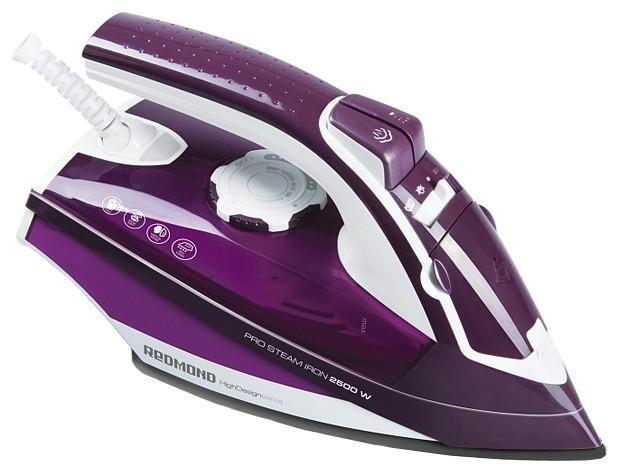 Redmond RI-C224, Purple утюгRI-C224 vБлагодаря утюгу Redmond RI-C224 ваша одежда всегда будет опрятной и красивой. Данная модель обладает функцией разбрызгивания. Для глажки пересушенных вещей окажется полезной функция парового удара.