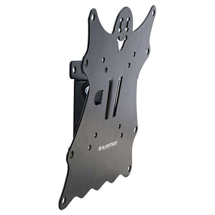 Kromax Casper-201, Black настенный кронштейн для ТВCASPER-201Кронштейн Kromax Casper-201 идеально подходит для всех LED/LCD телевизоров с диагональю экрана от 15 до 40 дюймов (38-102 см) и весом до 30 кг. Надежная стальная конструкция позволяет разместить телевизор максимально близко к стене на расстоянии всего 50 мм. Крепежные отверстия соответствуют стандартам VESA 75 x 75 мм - 200 x 200 мм. Предусмотрена удобная и простая установка, благодаря встроенному водяному уровню и съемной монтажной пластине.