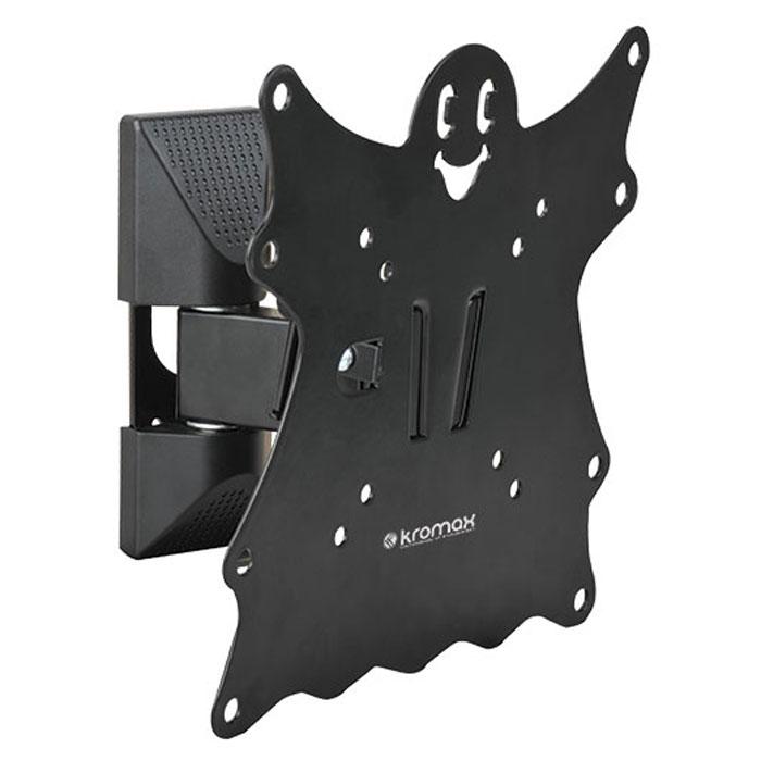 Kromax Casper-202, Black настенный кронштейн для ТВCASPER-202Кронштейн Kromax Casper-202 идеально подходит для всех LED/LCD телевизоров с диагональю экрана от 15 до 40 дюймов (38-102 см) и весом до 30 кг. Надежная стальная конструкция позволяет разместить телевизор близко к стене на расстоянии 57-110 мм. Крепежные отверстия соответствуют стандартам VESA 75 x 75 мм - 200 x 200 мм. Предусмотрена удобная и простая установка, благодаря встроенному водяному уровню и съемной монтажной пластине.
