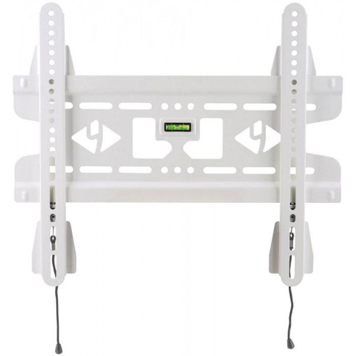 Kromax VEGA-50, White кронштейн для ТВVEGA-50Фиксированный кронштейн Kromax VEGA-50 предназначен для ЖК (LCD) телевизоров и плазменных панелей с расстоянием от стены - 15.5 мм. С помощью технологии TechLock, Вы легко сможете снять ТВ с кронштейна вместе с направляющими. Максимальные посадочные отверстия по горизонтали - 400 мм, по вертикали - 400 мм.