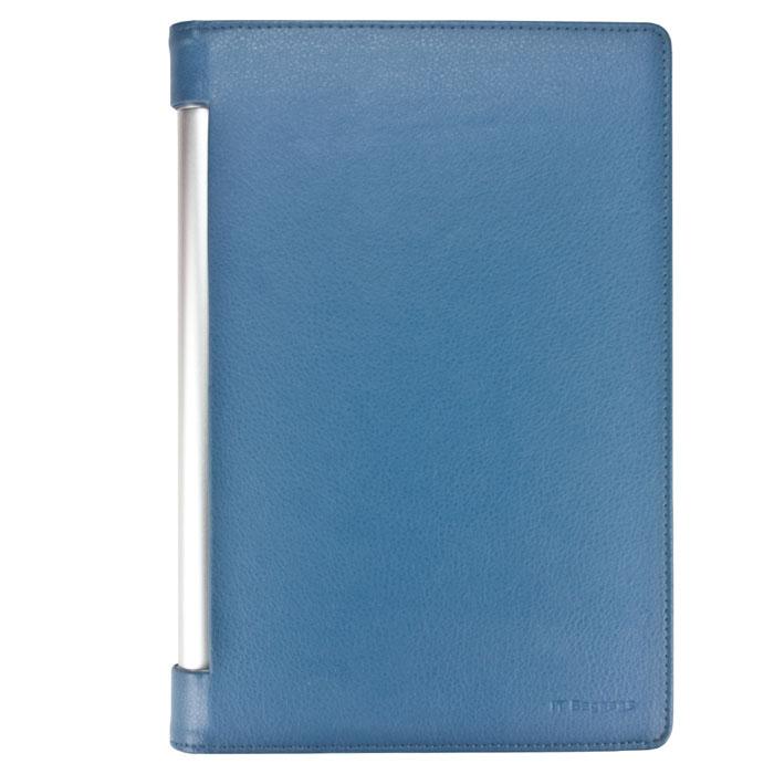 IT Baggage чехол для Lenovo Yoga Tablet 10, BlueITLNY102-4Чехол IT Baggage для Lenovo Yoga Tablet 10 B8000 - это стильный и лаконичный аксессуар, позволяющий сохранить планшет в идеальном состоянии. Надежно удерживая технику, обложка защищает корпус и дисплей от появления царапин, налипания пыли. Также чехол можно использовать как подставку для чтения или просмотра фильмов. Имеет свободный доступ ко всем разъемам устройства.